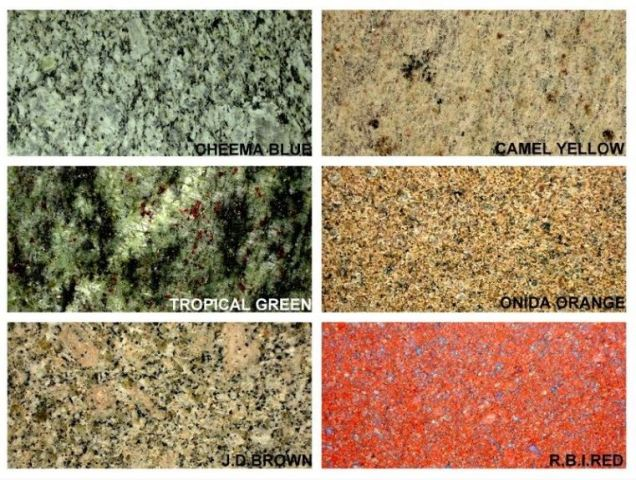 Granite Color Choices 1