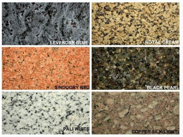Granite Color Choices 2