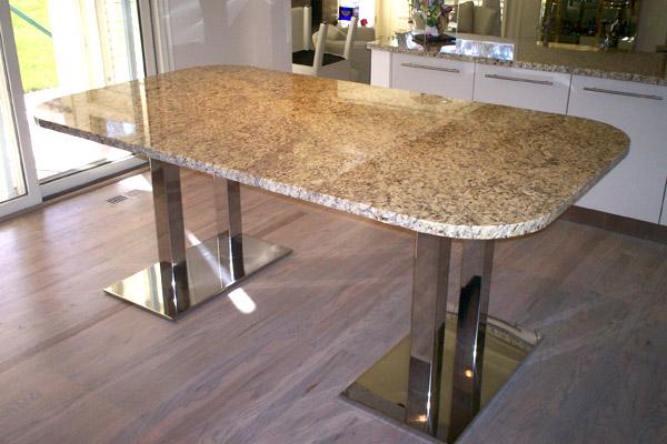 Charming Granite Kitchen Tables_877073
